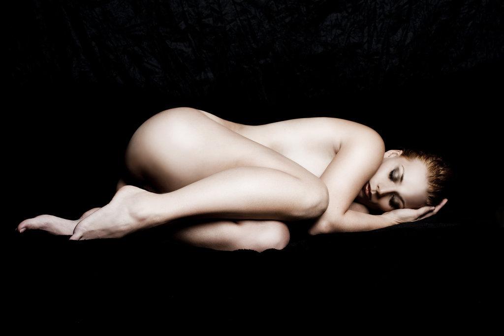 Die nackte Frau